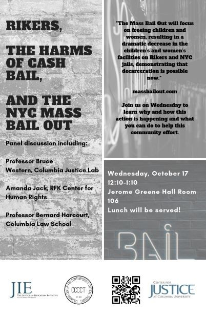 Mass Bail Out Flyer
